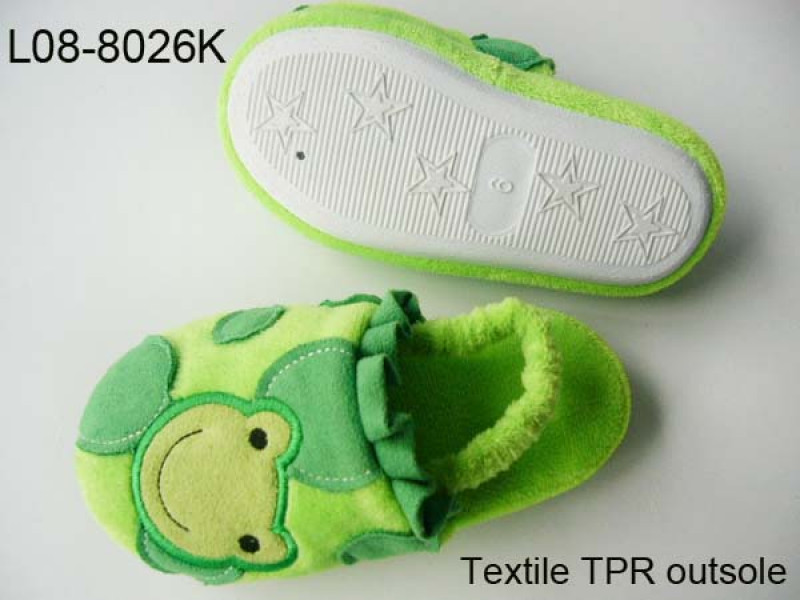 Animal frog slipper