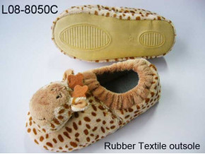 Animal giraffe slipper