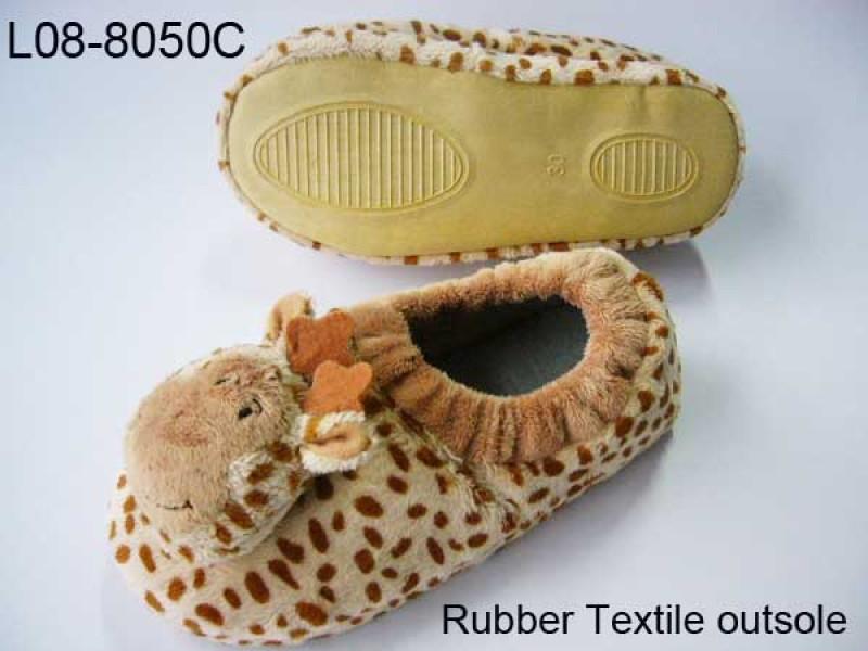 Animal giraffe slipper