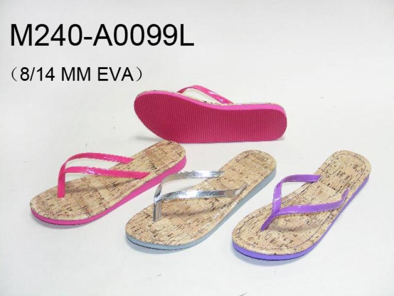 Ladies PU upper slipper