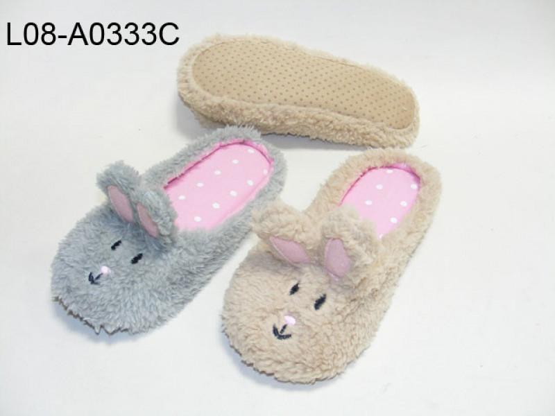 Children plush upper slipper
