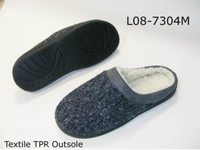 Men indoor slippers